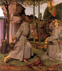 Bartolomeo painting of St Francis of asisi