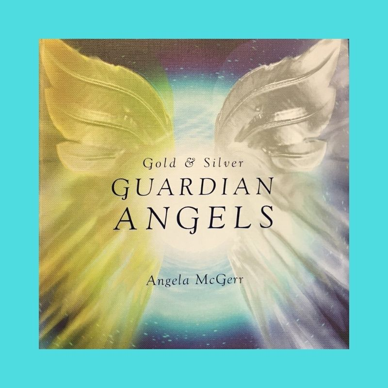 Gold & Silver Guardian Angel Cards & book set