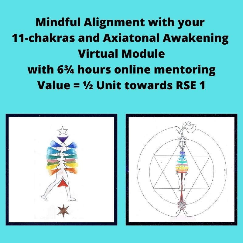 Mindful Alignment with your 11-chakras and Axiatonal Awakening