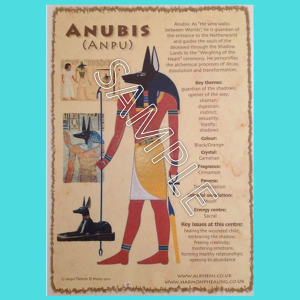 Poster of Anubis (Download)