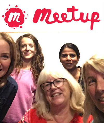 Join Joanna at a Meetup in London and Surrey